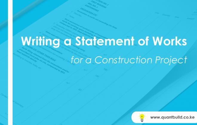 statement of works