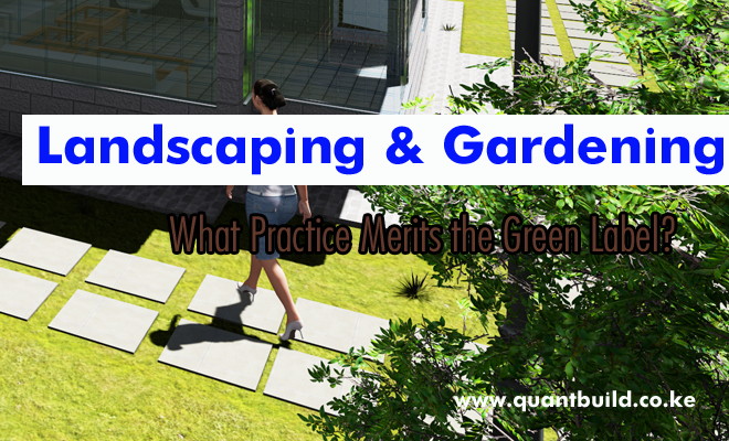 landscaping and gardening