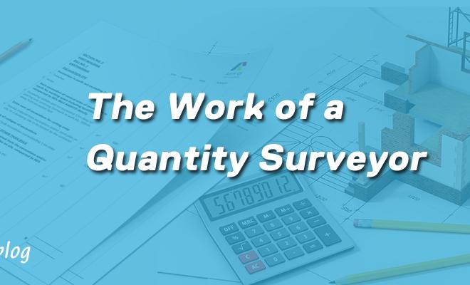 work of quantity surveyor