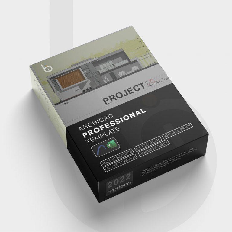 MSBIM 2022 ArchiCAD Professional Template